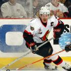 18-year NHL veteran Daniel Alfredsson plans to announce his retirement from the league in December.  Originally a sixth-round pick of the Senators in 1994, the team for whom he played the first 17 seasons of his career, Alfredsson won the Calder trophy for Rookie of the Year in 1996. The Swedish winger has scored 444 goals and recorded 713 assists for a total of 1,157 points in 1,246 NHL games. He tied for the team lead in scoring for Detroit last season, recording 49 points in 68 games.