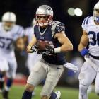 The fragile receiver entered last season as a trendy fantasy option in the high-powered Patriots offense. This season, he's an afterthought and could easily step up.