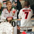 """On Aug. 3, 1997, David Beckham wasn't quite the celebrity he is today, and Manchester United managed to leave the """"H"""" out of his name for a Charity Shield match against Chelsea FA."""