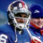 A physical specimen at Notre Dame, Brown looked as if he would redefine the tight-end position in the NFL. Brown did change the way people thought about tight ends: Teams no longer wanted to take them in the first round. He had 11 catches in three seasons with the Giants before being cut. Brown also gets lumped in with the Jets' No. 15 pick that year, Johnny Mitchell, another historic tight-end bust.