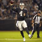 Don't rely on Carr in the early weeks of the season, but he's a player to keep an eye on in deeper formats. The Raiders should be trailing in a lot of games and they have an offense that could lead to cheap production for the rookie QB.