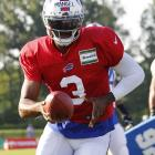 As the only quarterback picked in the first round of the 2013 draft, E.J. Manuel fell far short of expectations, never really producing any eye-popping numbers in Buffalo before falling victim to injury in the second half of the season.  With that in mind, Manuel will try to make everyone forget about last year and prove why having an asset as good as Sammy Watkins will prove infinitely beneficial in his developing into a franchise quarterback.