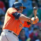 2013 (w/Houston Astros): 33 AB, 1 R, 1 HR, 3 RBI, 0 SB, .182 BA, .229 OBP --- 2014: DNP