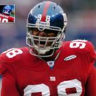 """Somebody decided the Toys """"Я"""" Us spelling for Giants defensive tackle Fred Robbins was a better way to go in a home game against the Cowboys on Dec. 4, 2005."""