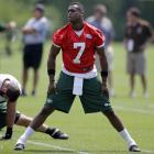 Geno Smith threw 21 interceptions last year to 12 touchdowns, completing just 55.8 percent of his passes. And he enters training camp with newcomer Michael Vick in the running for the same job. Vick believes the job is Smith's to lose, which makes this training camp positional battle one of the more intriguing ones to follow.