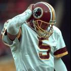 Shuler displayed all the tools at Tennessee, but he never understood the nuances of an NFL offense while in Washington. Shuler played 19 lackluster games in three seasons with Washington before being displaced by Gus Frerotte. Shuler was traded to the Saints, where he lasted just one year.