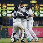 Hisashi Iwakuma walked three batters and struck out seven while throwing a no-hitter against the Baltimore Orioles on Aug. 12, the first complete game of his four-year MLB career.