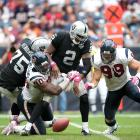 The Raiders took Russell No. 1 in the 2007 draft and ponied up $39 million. In return they got seven wins, 18 TD passes and a quarterback who weighed in at as much as 300 pounds. That Oakland passed up the chance to take Calvin Johnson, Joe Thomas, Adrian Peterson, Patrick Willis or Darrelle Revis just pours salt into the wound.