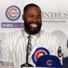 Heyward, 26, chose the Cubs on Dec. 11, 2015, over returning to the St. Louis Cardinals; he hit .293 with 13 home runs, 60 RBIs and 23 stolen bases in 2015 for the Cardinals after being acquired from the Atlanta Braves in an off-season trade. He also won his third Gold Glove award as the National League's top rightfielder.