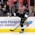 After an unproductive stint in Columbus, the 27-year-old forward was acquired by the Kings on Feb. 23 for defenseman Jack Johnson and a first-round pick in the 2013 draft. Being reunited with former Flyers teammate Mike Richards helped revive Carter's comfort level and his scoring touch—he'd been a 46-goal man in Philadelphia—and he potted 18 goals in 32 games down the stretch as the Kings rallied to grab the eighth seed in the West. In the playoffs, he proved to be a force (eight goals, 13 points in 20 games), scoring his first career postseason hat trick in Game 2 of the Western Conference Finals vs. Phoenix plus the OT winner in Game 2 of the Stanley Cup finals vs. New Jersey as well as the Cup-clincher in Game 6.