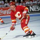 The Hall of Fame forward arrived from St. Louis in a six-player deal on Feb. 1, 1986, bringing toughness, scoring and superb two-way play. He scored 29 goals down the stretch and another 12 in the playoffs as the Flames reached the Cup finals, only to fall to Montreal.