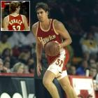 """Former Hawks big man Jon Koncak is perhaps best remembered for the six-year, $13 million contract he received from the Hawks in 1989 -- an unprecedented total for a reserve. Having earned the nickname """"Jon Contract,"""" one would think his jersey would have been misspelled differently in '93."""