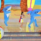 "Katy Perry performed at the Super Bowl XLIX halftime show, and her candy-colored ""Teenage Dream"" and ""California Girls"" set featured some very enthusiastic sharks. These oddly endearing felt monsters stole the show, but it was the left finned dancer who truly soared. With a dedicated ambivalence to the set choreographed, this dancer slapped and wriggled his way into the hearts of football fans everywhere."