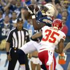 The 6-6, 237-pound Green is an obvious red-zone target and has the tools to be an impact fantasy option if he receives ample targets. Antonio Gates, the incumbent TE in San Diego, is 34 and slowed significantly down the stretch in 2013. Green caught 17 passes for 376 yards and three TDs last season, highlighted by a three-game stretch in which he caught nine balls for 206 yards and two scores.