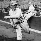 Robert Moses Lefty Grove made his big league debut in 1925 with the Philadelphia Athletics and went on to a 300-win career with the A's and Red Sox.
