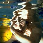 Water polo player Manuel Estiarte of Spain in 1996.