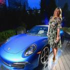 Maria Sharapova attends the Haute Living Cover Release Party.