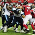 Michael Oher signed a four-year, $20 million deal with the Titans before 2014 that ended up lasting only 11 games. Oher hurt his a toe and ended the season on injured reserve. His absence probably didn't hurt Tennessee, as Oher was ranked the fifth worst offensive tackle out of 78 according to Pro Football Focus.
