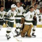 Awarded to a hockey hotbed, the North Stars began to struggle at the gate when they failed to reach the playoffs five times in six seasons (1973-79), and were merged with Cleveland Barons in a bid to keep them afloat. They recovered on the ice, reaching the Stanley Cup Final in 1981 and '91, but remained the subject of relocation threats (Anaheim; San Francisco). They were finally moved to Dallas in 1993, becoming the Stars and winning the franchise's first Cup in 1999.  All-time regular season record: 1,572-1,510-459-95; Playoff appearances: 30; Stanley Cups: 1
