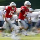 Tom Brady and Ryan Mallett