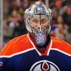 The Oilers' veteran goalie was busted for extreme DUI and speeding near Phoenix in February 2010 while rehabbing a back injury. He received a 30-day jail sentence.