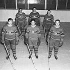 Montreal's famed trio finished 1-2-3 in scoring in 1944-45, with center Lach putting up 80 points, right winger Richard 73 and left wing Blake 67. The line was also a key component of two Stanley Cup championship teams.