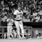 Jackson hit 23 or more home runs in 13 consecutive seasons between 1969-80. He became the 13th member of the club on Sept. 17, 1984, in Anaheim with a solo homer off Kansas City's Bud Black.