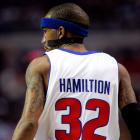 """Pistons swingman Rip Hamilton actually received an upgrade to his name with this one back in March 2008. """"HAMILTION"""" sounds very Terminator-esque, no?"""