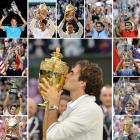 Federer is 17-8 in Grand Slam finals, including 7-2 at Wimbledon.