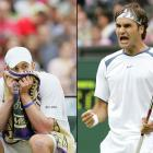 """Calling his play in the final """"the best in my life,"""" Federer picked apart Andy Roddick 6-2, 7-6 (7-2), 6-4 for his third consecutive Wimbledon title. Federer lost one set in the tournament, to Nicolas Kiefer in the third round."""