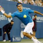 With yet another victory against Andy Roddick, Federer won his third U.S. Open in a row and capped another year with three major titles.