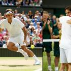 The 30-year-old Federer finally equaled Pete Sampras' record at the All England Club, and won his 17th Grand Slam title overall, by beating Andy Murray 4-6, 7-5, 6-3, 6-4.