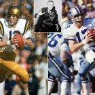After excelling at Navy, Staubach spent four years in military service, including a tour in Vietnam. He didn't play an NFL down until he was 27. Despite the late start, Staubach led the Cowboys to four Super Bowls and two titles. He was a six-time Pro Bowl pick, led the NFL in passer rating four times and retired with 22,700 passing yards and 174 touchdowns.