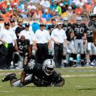 The linebacker out of Alabama registered just a half-sack in his rookie season. Two more subpar years in black and silver (and off-field issues) led the Raiders to release him. In need of some linebacker help, the Ravens picked McClain up in the 2013 offseason. He responded to that reprieve by getting arrested in April, his third run-in with the law in less than a year. Although he found new life in Dallas in 2014, McClain is still a bust as far as Oakland is concerned.