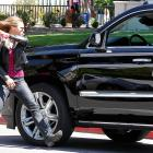 "Ronda Rousey is seen filming a scene for the ""Entourage"" movie in Beverly Hills in Los Angeles"
