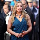 "Ronda Rousey attends ""The Homesman"" Premiere at the 67th Annual Cannes Film Festival inFrance."