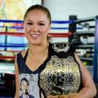 Rousey hosts Media Day ahead of her Nov. 14 fight in Australia.