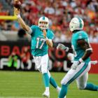 Tannehill enters 2014 with a new offense under offensive coordinator Bill Lazor and should improve from a fantasy standpoint. He has the tools and weapons to be a steady bye-week replacement if things break right for the third-year starter.