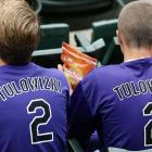 """The first 15,000 fans received Troy Tulowitzki jerseys, missing a """"T"""" and misspelled """"TULOWIZKI,"""" for the Colorado Rockies home game vs. the Pirates on July 26, 2014."""