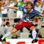 Alexi Lalas and the U.S. made it to the Round of 16 at the 1994 World Cup, but any pride the team may have felt was quickly erased with this uniform.