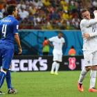England's forward Wayne Rooney gestures after missing a shot on goal during a 2-1 loss to Italy at the Amazonia Arena in Manaus on June 14.