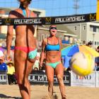Brooke Sweat and Lauren Fendrick scrapped all weekend to reach the finals.