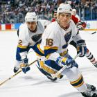 """From 1989 to 1992, Hall of Famers Hull and Oates were a smash in St. Louis as the NHL's most prolific top line pair. With Oates feeding him uncanny passes, Hull produced league-leading seasons of 72, 86, and 70 goals, the best totals of his career. Their amazing chemistry was the result of friendship as well as talent. """"To be able to play with a guy that you were just as close with off the ice as you were on the ice, I think that had a lot to do with how successful we were,"""" Hull told NHL.com.  ."""