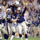 """Automatic Adam"" has converted on some of the most crucial field goals in NFL history. Vinatieri won three Super Bowls with the Patriots, two of which were determined by his field goals in the games' waning seconds."