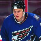 """The Russian sniper, the fourth pick, was too lazy for the pro game. In his defense, he was a member of one of the weakest draft classes in NHL history. Ahead of him were J.P. Dumont, Andrei Zyuzin and, at first overall, Chris Phillips. Nothing against Phillips, but he doesn't strike you as """"first overall"""" material. Still, here's the difference between Phillips and Volchkov: Phillips missed as many NHL games between 2006-07 and 2011-12 as Volchkov played in his entire NHL career: three."""