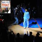 It took two years, but in March 2008, Iverson returned to Philadelphia for the first time since being traded to the Nuggets in December 2006. The sellout crowd showered their former franchise player with affection, giving him a standing ovation that ended only because the PA announcer continued to announce the rest of the Nuggets lineup. Iverson didn't disappoint, posting a vintage Iverson line with 32 points and eight assists in a losing effort.