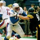 A six-time Pro Bowler at offensive tackle, Armstrong spent all 14 years of his professional career in New England. The Patriots retired his #78 jersey.