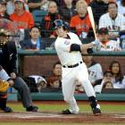 The San Francisco Giants and catcher Buster Posey agreed to an eight-year on March 29, 2013, with a $21.4 million club option for 2022. Posey was under contract through the 2016 season, but this new deal buys out several years of free agency. The 2012 National League MVP hit .336 with 24 home runs and 103 RBI in 2012, leading the team to their second world championship in three seasons.
