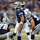 Tony Romo had his 21st comeback victory in the fourth quarter or overtime, a franchise best, as he led the Cowboys in erasing a 21-0 deficit and stun the Rams 34-31.  After being down 21-0, Terrance Williams scored the go-ahead touchdown late in the fourth quarter, and Bruce Carter returned an interception 25 yards for a TD on the next snap, capping the rally. Dallas also rallied from a 21-point deficit in 1984 against New Orleans and 1999 against Washington, although both of those wins came in overtime.