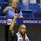 David Price allowed only one hit to his former team, a first-inning RBI triple to Brandon Guyer, and yet somehow took the loss as Rays defeated the Tigers 1-0.   Price, traded to Detroit as part of a three-team deal on July 31, got a standing ovation while taking his warmup throws before the bottom of the first.  Taken first overall by Tampa Bay in the 2007 draft,  Price got the save in the Rays' Game 7 victory over Boston in the 2008 AL championship series and was the 2012 AL Cy Young Award winner.